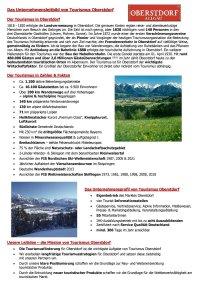 Unternehmensleitbild von Tourismus Oberstdorf