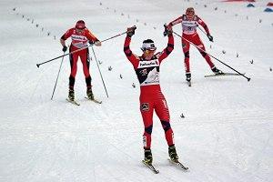 Tour de Ski - Zieleinlauf