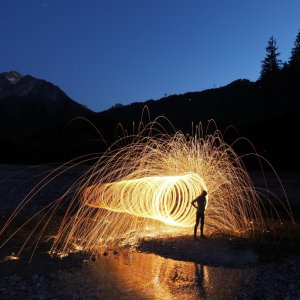 Fotogipfel - Lightpainting, Eric Scheuermann