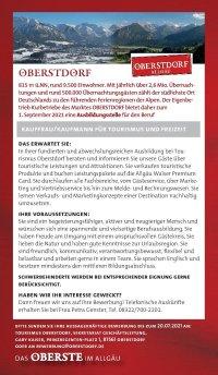 Kauffrau/Kaufmann für Tourismus & Freizeit
