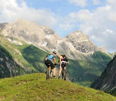 Mountainbiketour ins Oytal