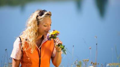 Blumen am Seealpsee