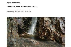 Oberstdorfer Fotogipfel - Infoblatt Aqua Workshop
