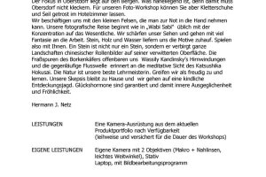 Oberstdorfer Fotogipfel - Infoblatt Wabi Sabi naturnah