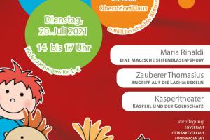 Kinderfest Plakat 2021