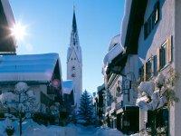 Kirchstraße im Winter