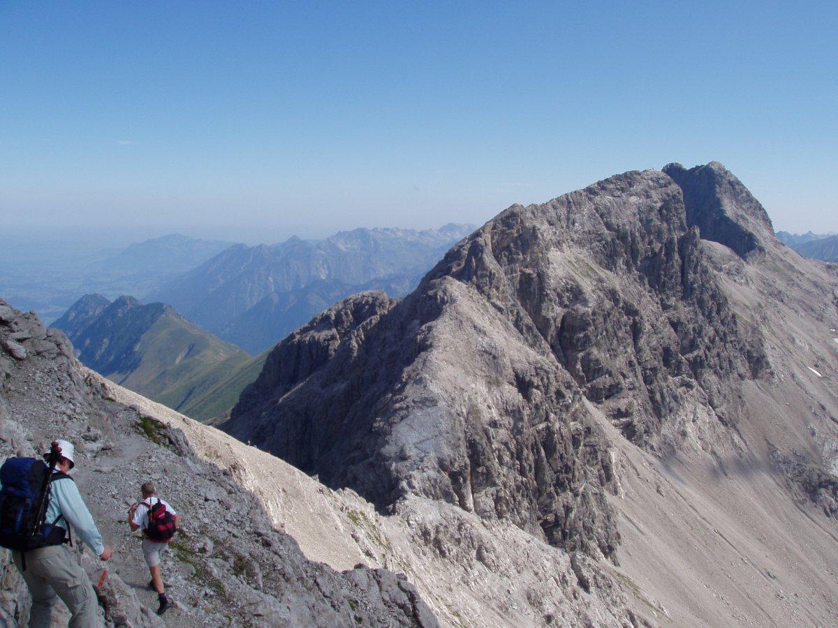 Klettersteigset Heilbronner Weg : Heilbronner weg
