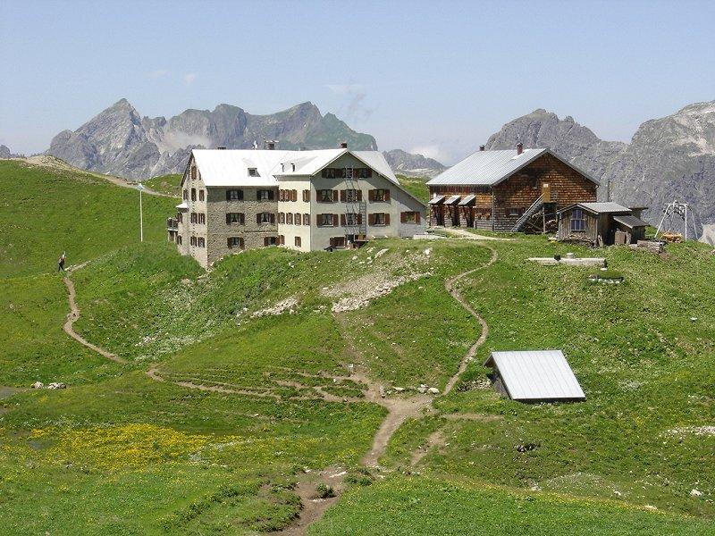 Kletterausrüstung Oberstdorf : Hüttentouren rund um oberstdorf allgäuer alpen