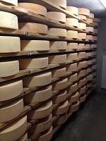 Lagerkeller in der Käserei