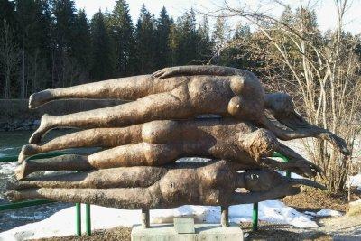Skulptur Illerursprung von Walter Kalot