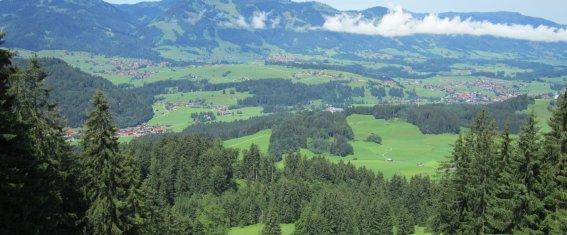 Blick vom Wallrafweg zur Hörnergruppe