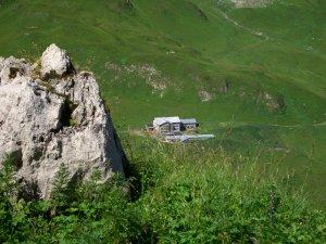 Kemptner Hütte - Auf dem Weg zum Fürschießersattel