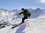 Skifahrer Fellhorn / Kanzealwand