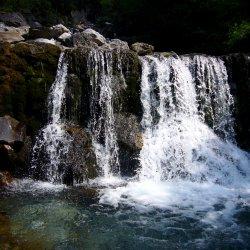 Wasserfall im Faltenbachtobel