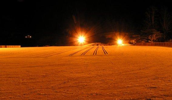 Nachtloipe im Langlaufzentrum Oberstdorf
