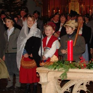 Adventssingen in Oberstdorf