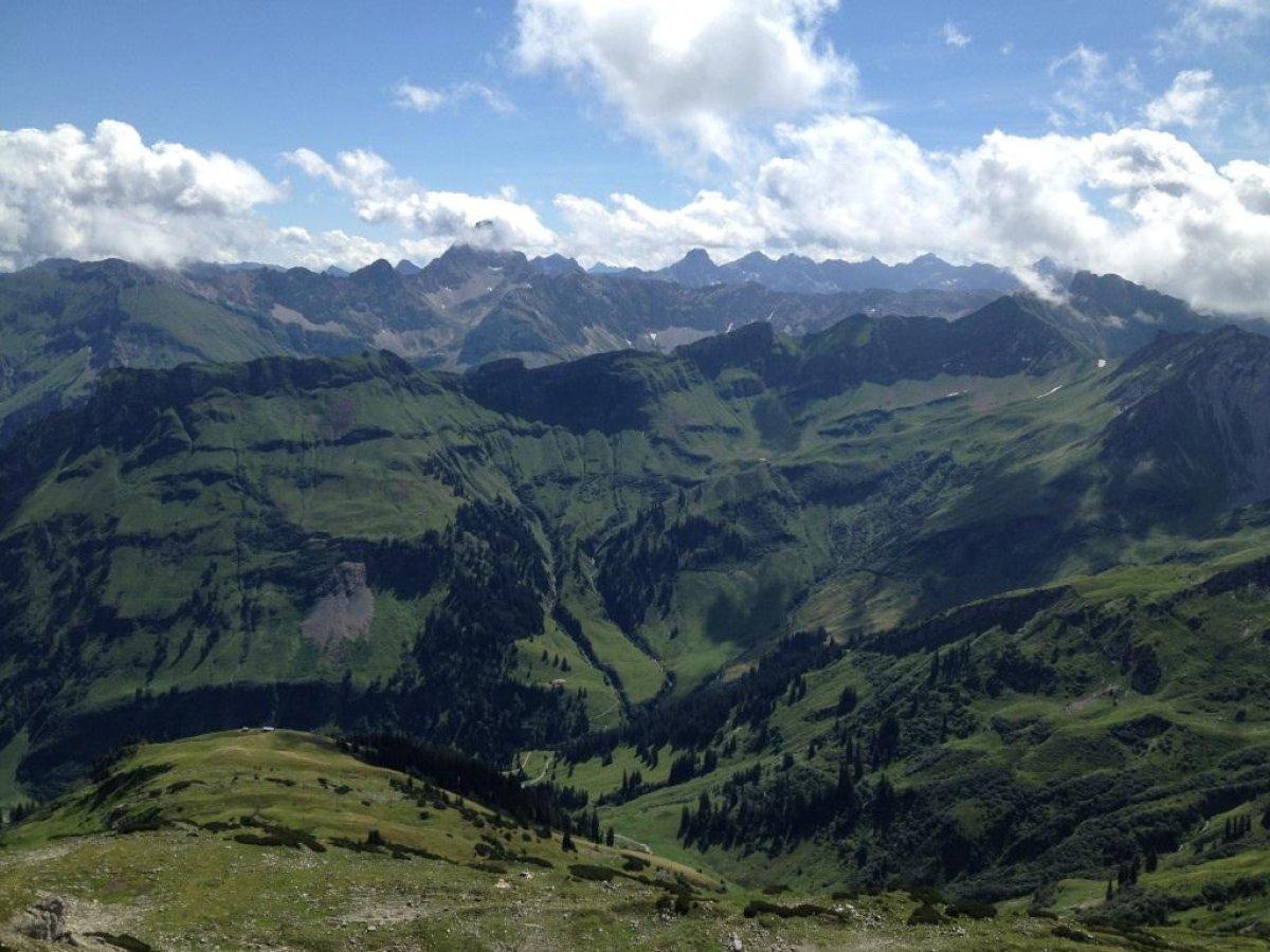 Klettersteigset Leihen Oberstdorf : Klettersteige in oberstdorf im allgäu