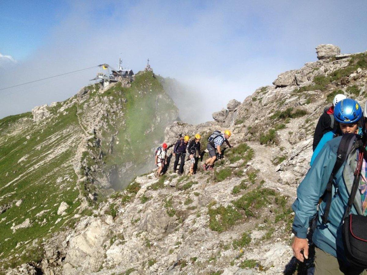 Klettersteig Near Me : Hindelanger klettersteig