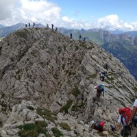 Unsere Klettergruppe