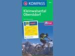 Mountainbike-Karte, Kleinwalsertal Oberstdorf