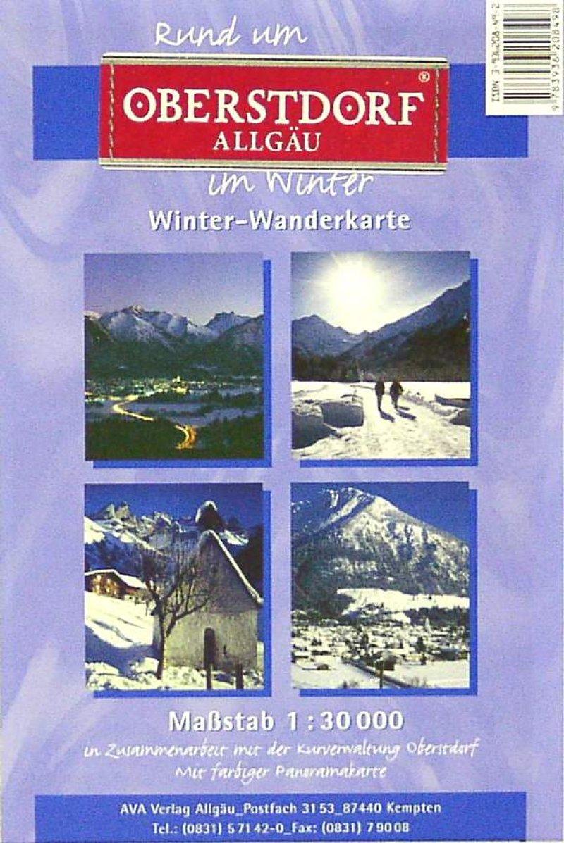 Winter-Karte
