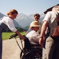 Rollstuhl-Service im Hotel