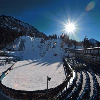 Erdinger Arena im Winter