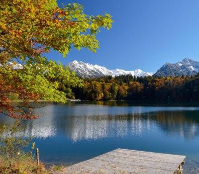 Freibergsee Herbst