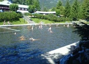 Schwimmbecken im Moorbad Oberstdorf
