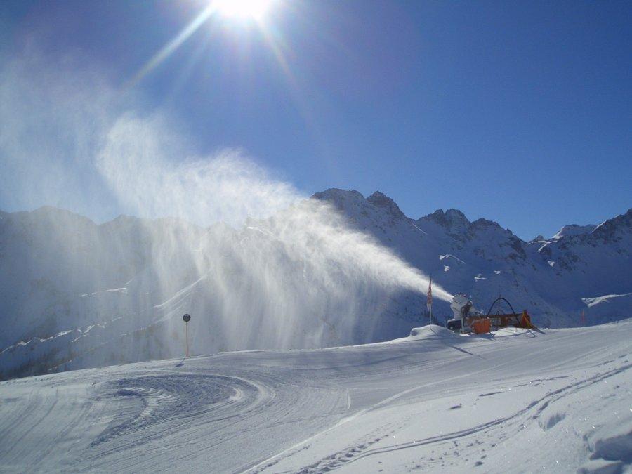 Beschneiung am Fellhorn