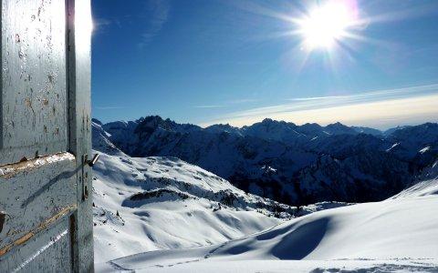 Gipfelblick auf dem Nebelhorn