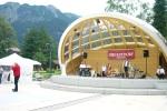 Traumhafte Kulisse - der Musikpavillon im Kurpark