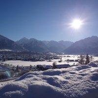 Blick auf den Oberstdorfer Rundkurs