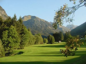Golfplatz Oberstdorf Fairway 4 Moosloch