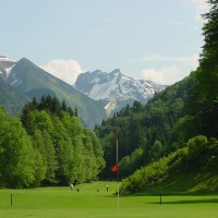Golfplatz Oberstdorf Loch 3