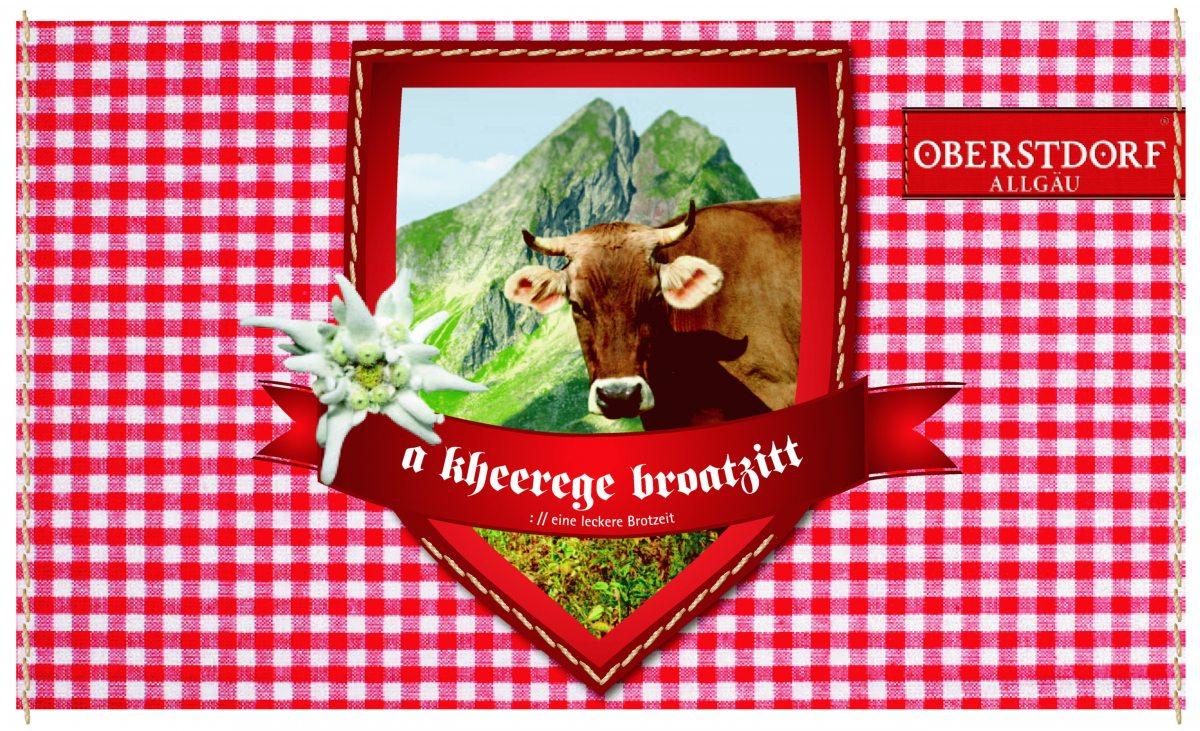 Brotzeitbrettchen Kuh