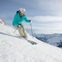 Skifahren am Nebelhorn