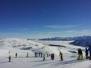 Skifahren an Obheitertagen