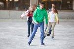 Publikumslauf im Eissportzentrum