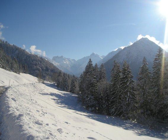 Winterwanderweg am Kühberg