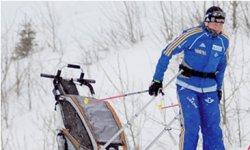 Chariot Ski Set