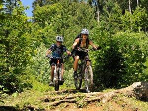 Mountainbike Fuchsloch quer Tourismus Oberstdorf