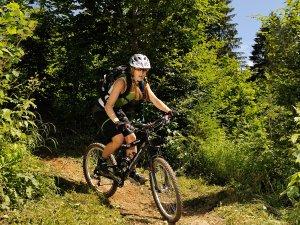 Mountainbike Fuchsloch hoch Tourismus Oberstdorf