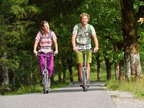 Rollerfahrt Oytal Quer Tourismus Oberstdorf