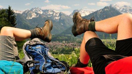 Wandern ueber Oberstdorf quer Tourismus Oberstdorf