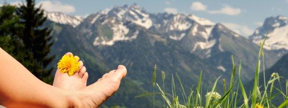 Wandern Berge Tourismus Oberstdorf