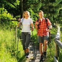 Wandern hoch Tourismus Oberstdorf