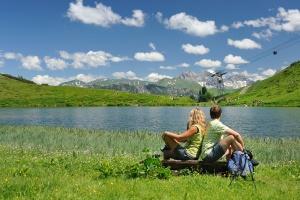 Wandern Schlappoldsee Fellhorn Tourismus Oberstdorf