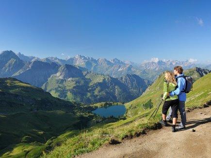 Wandern Seealpsee Fellhorn Tourismus Oberstdorf