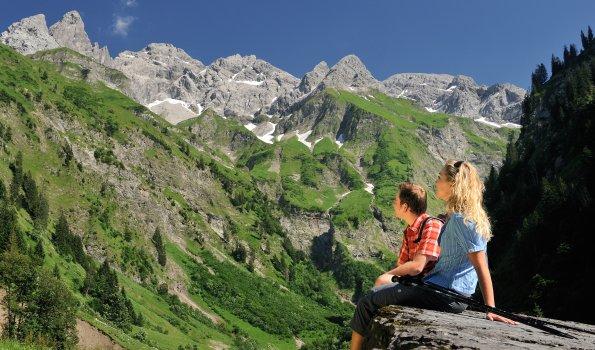Wandern Trettach Tourismus Oberstdorf